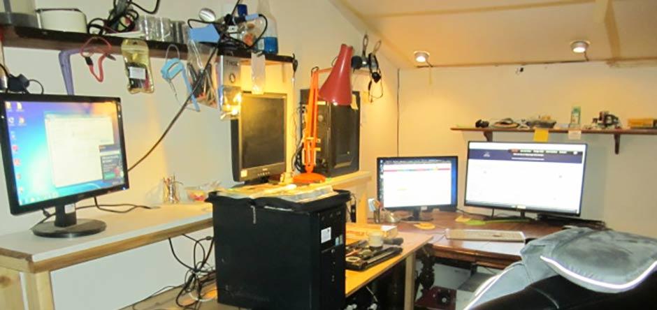 Laboratoire des réparations